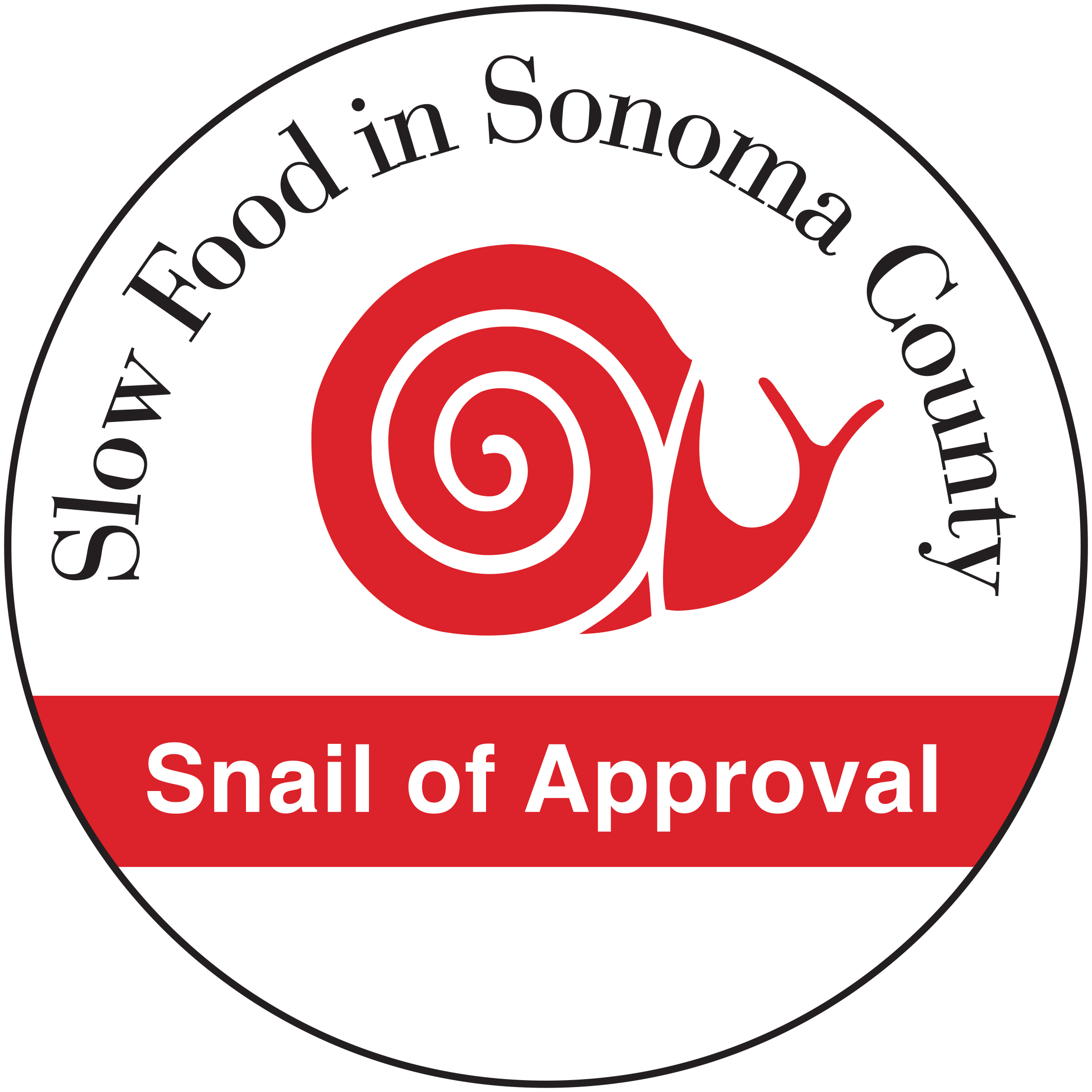slow food sonoma county northsnail of approval slow food sonoma